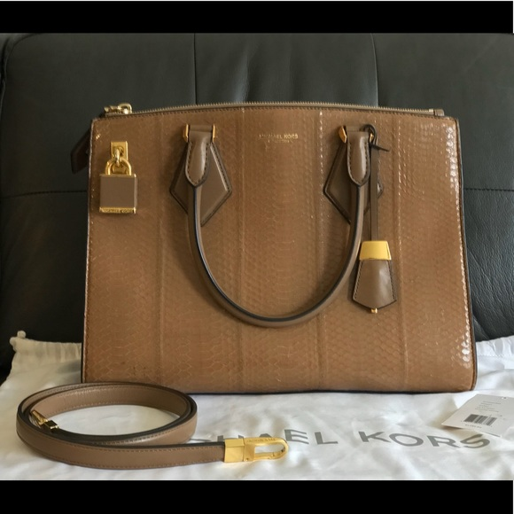 546fa6cdde9a Michael Kors Collection Casey in snakeskin. M 5ab05276f9e501a86ae6a4c2.  Other Bags ...